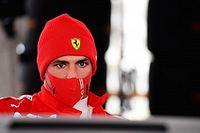 Sainz refuse de commenter la rumeur d'un crash en essais