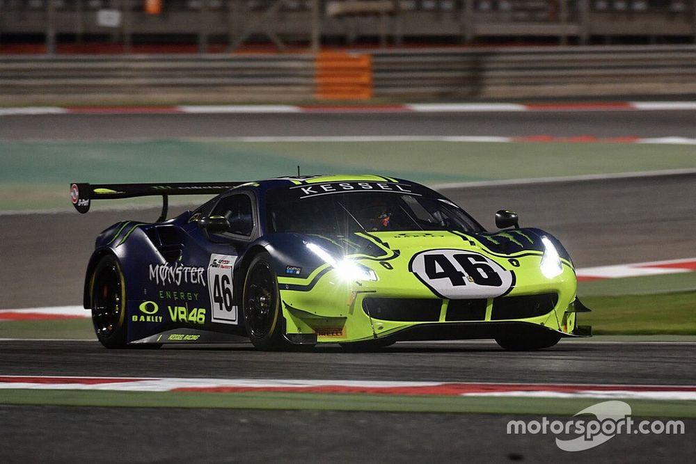 12h del Golfo alla McLaren, Rossi 3° in Pro-Am sulla Ferrari VR46
