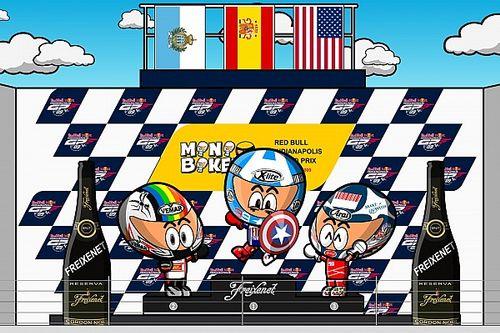 MiniBikers vintage: el alocado GP de Indianápolis 2009 donde Lorenzo conquistó América