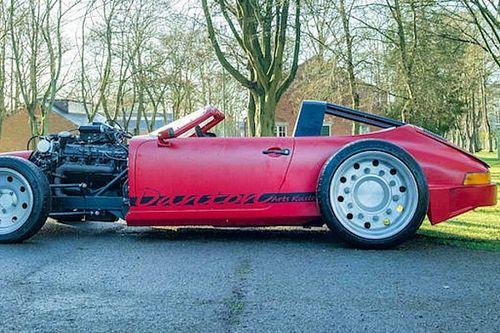 Porsche 911T hot rod, con motor V8 Bentley... ¿pero qué es esto?