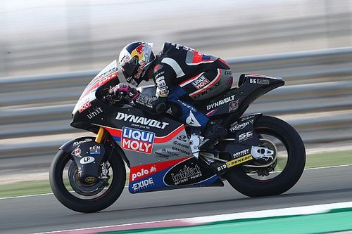 Tampil Lepas, Arbolino Ingin Jadi Rookie Moto2 Terbaik