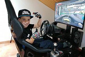 Tiene 10 años, venció a 800 simracers y llegó al Campeonato de Gran Turismo de España