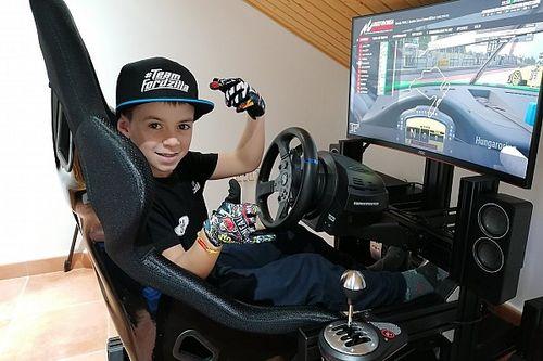 Un niño de 10 años, entre los pilotos del Campeonato de España de Gran Turismo
