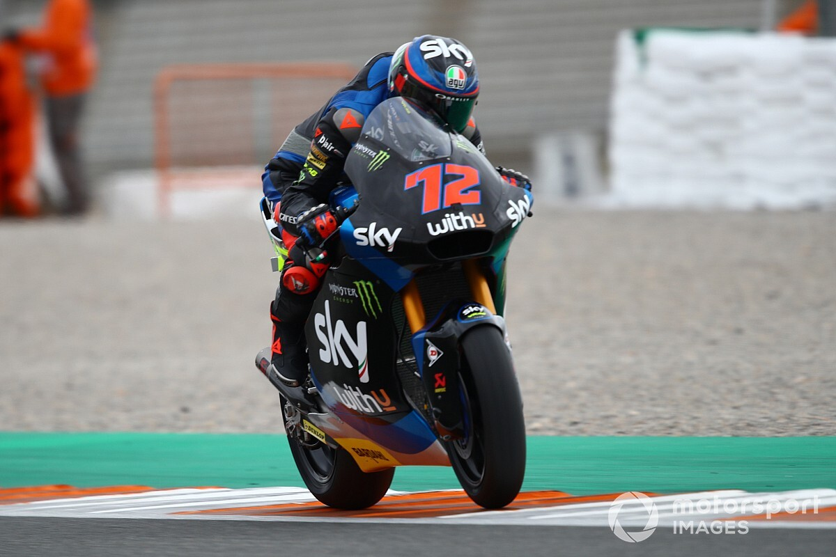 Moto2, Valencia, Libere 3: Bez al top. Lowes KO senza frattura?