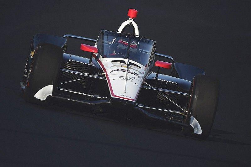 IndyCar aeroscreen makes on-track debut at IMS