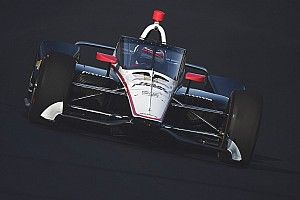 IndyCar aeroscreen makes on-track debut at IMS
