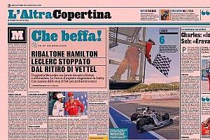 """Imprensa italiana detona estratégia da Ferrari: """"Que piada!"""""""