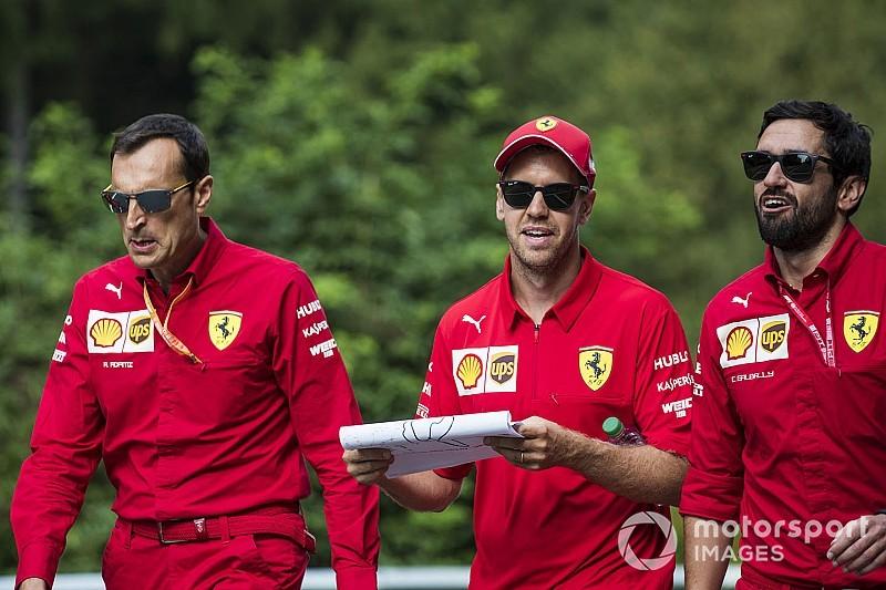 """Vettel twijfelt over kansen op Spa: """"Noem Ferrari geen favoriet"""""""