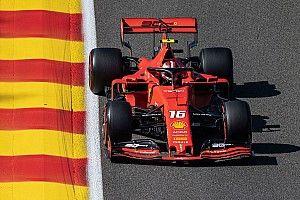F1 Spa, Libere 3: Ferrari davanti, Hamilton sbatte!