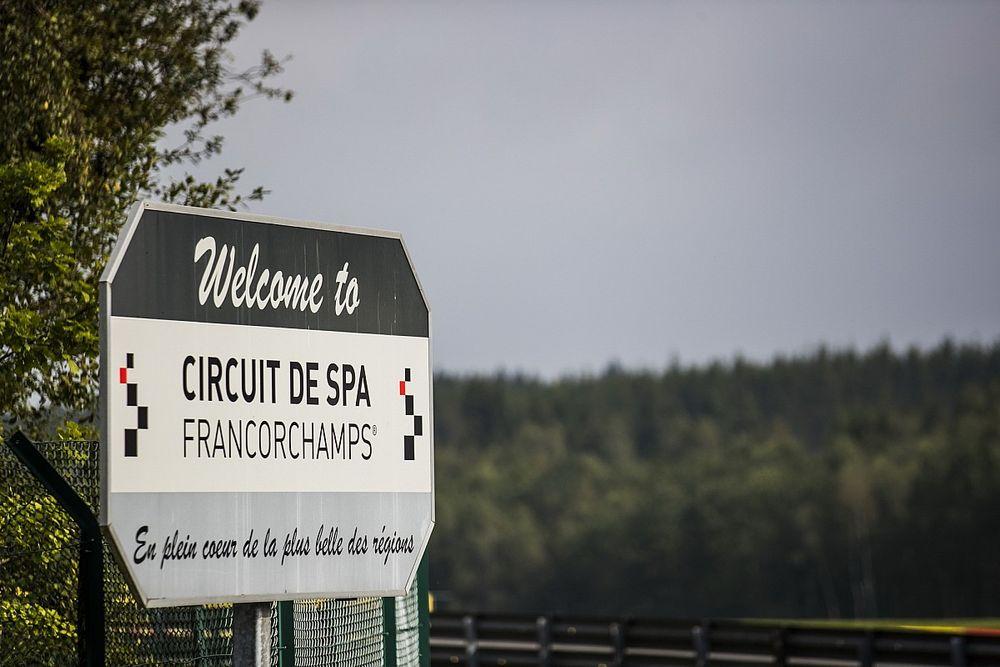 FIA maakt zich geen zorgen om veiligheid Spa-Francorchamps