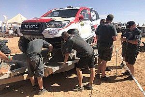 Ocho horas de reparación y 70 de sanción para Alonso en Marruecos