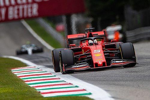 Vettel échappe à l'annulation de son temps en Q3