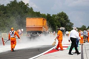 Можно ли было избежать пыли в Гран При Венгрии? Маси считает, что нет