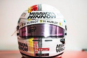 C'è un ninja sul casco di Vettel per il GP del Giappone