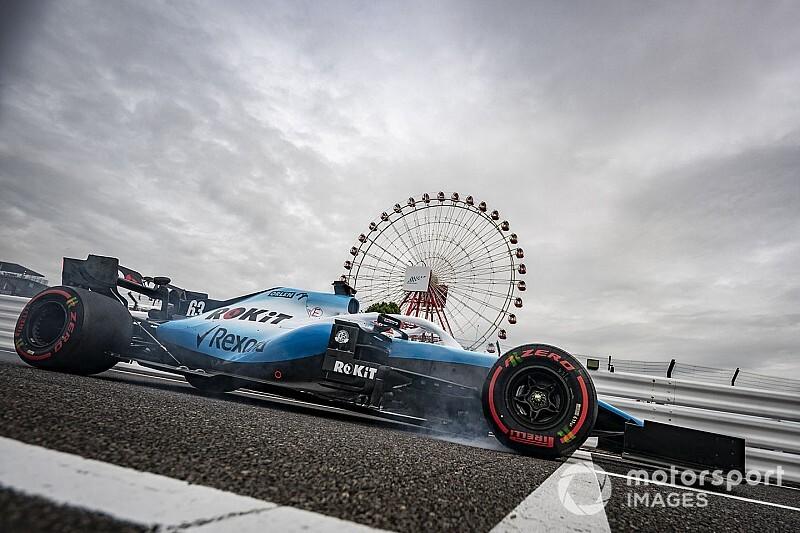 Russell déplore un problème de freinage sur la Williams