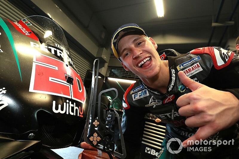 """MotoGPコラム:""""じっくり、順応""""クアルタラロ。注目のルーキー、終盤戦はさらに強く?"""