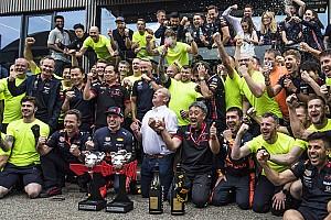 Óriási hátrányt dolgozott le a Honda a Red Bullnál