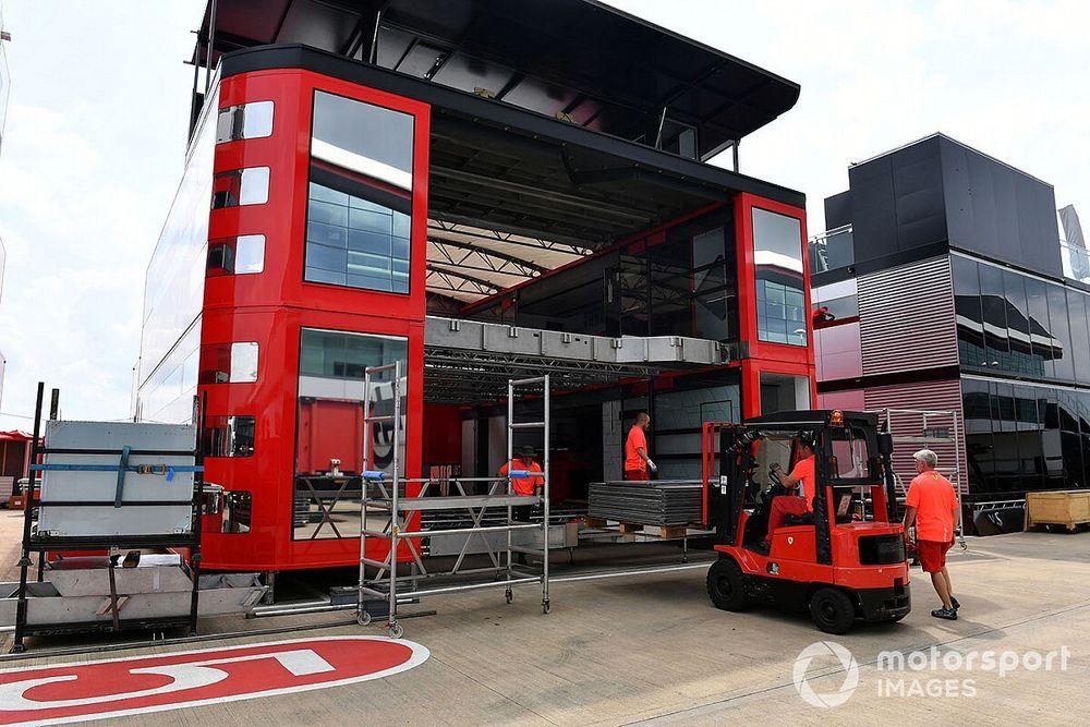 F1, dal Belgio i team riavranno le hospitality e più personale