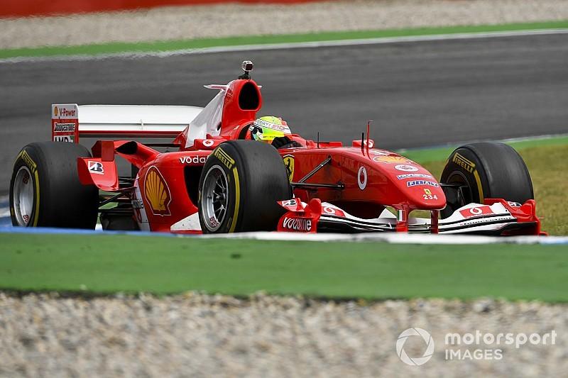 Mick Schumacher: Oczekiwanie na przejazd F2004 dłużyło się w nieskończoność