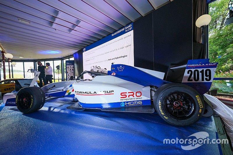 Presentan coches estilo Olímpico para los Motorsport Games