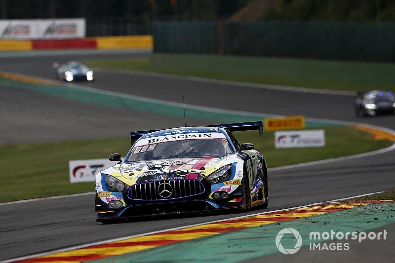 Spa 24h: Black Falcon Mercedes tops Thursday qualifying