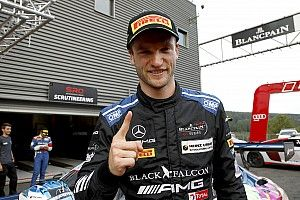 Spa 24h: Engel shades Vanthoor to give Mercedes pole