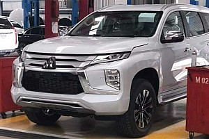 Оновлений Mitsubishi Pajero Sport «спіймали» фотошпигуни