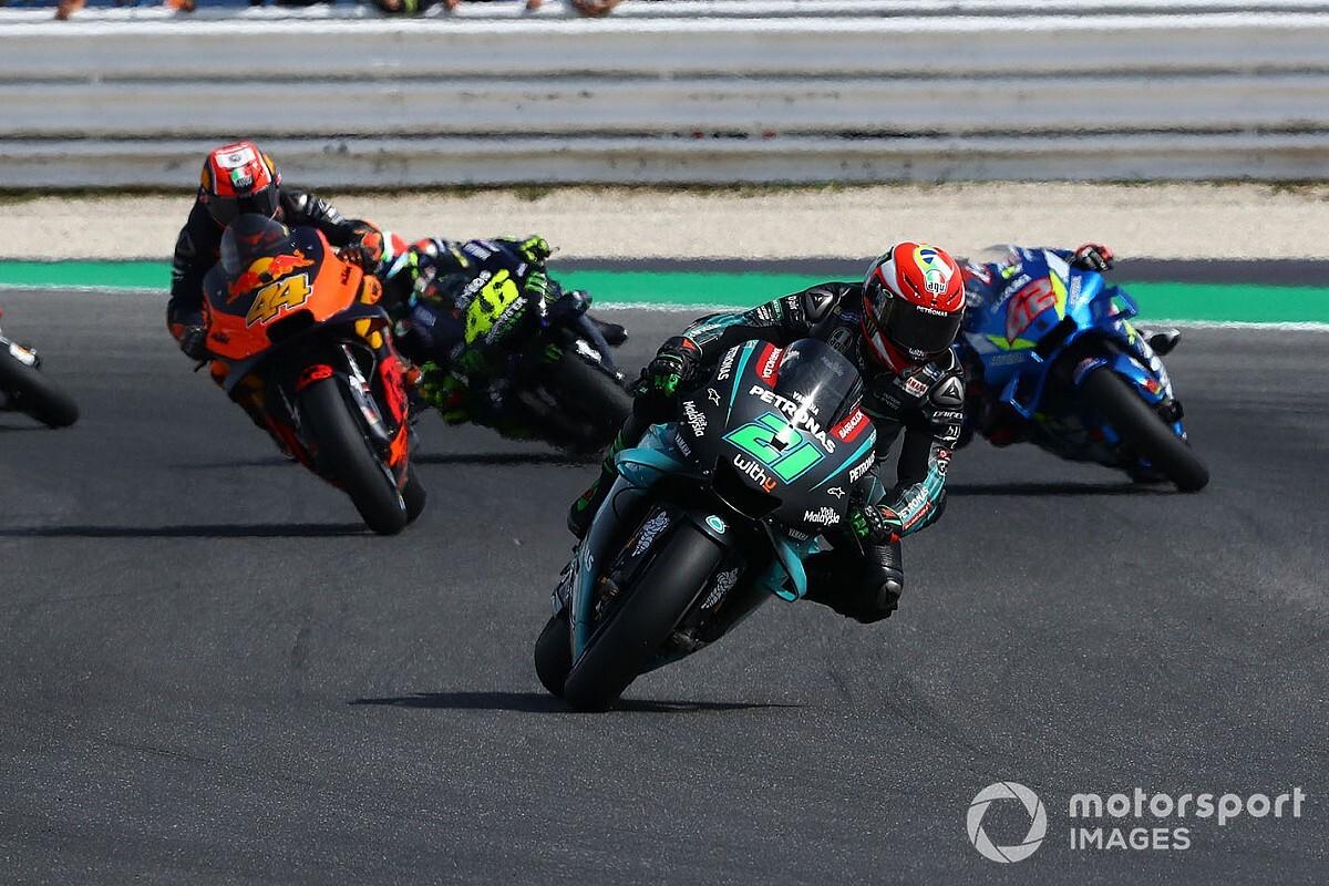 """Ezpeleta: """"Pensiamo alla MotoGP con 2 gare per pista in Europa"""""""