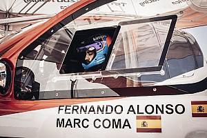 Alonso y Coma completan su positivo primer raid lastrado por un vuelco