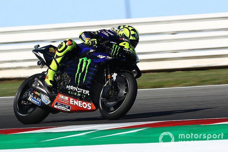 """Rossi: """"No sé por qué las Yamaha van tan bien aquí"""""""