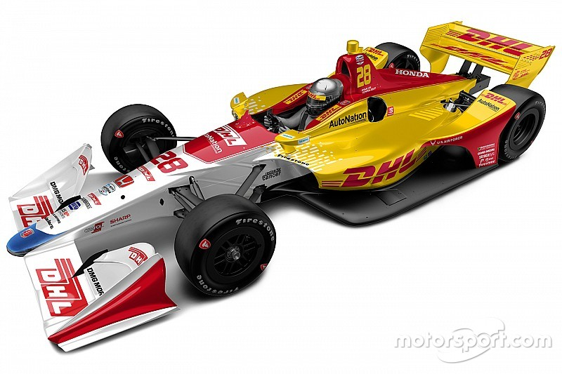 Hunter-Reay to run special DHL livery in season finale