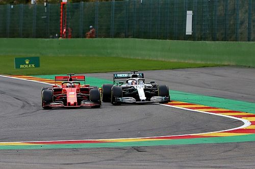 "Vettel: No qualms about Belgian GP ""roadblock"" role"