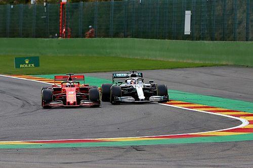Vettel diz que não viu problema em ajudar Leclerc no GP da Bélgica