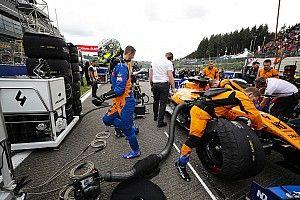 Rengeteg pontot bukott a McLaren Spában, de nem mutogat a Renault-ra