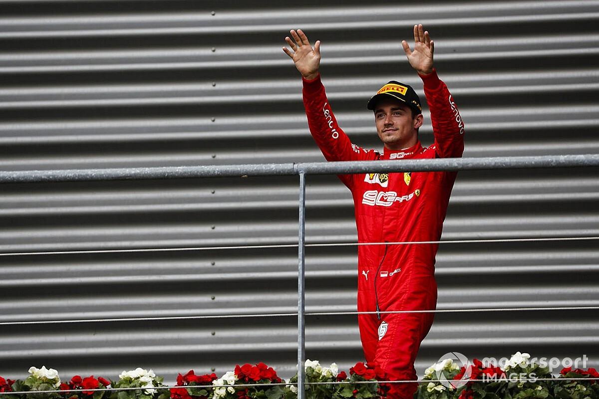 """""""Ferrari, Leclerc'le yeni anlaşma imzaladı"""""""