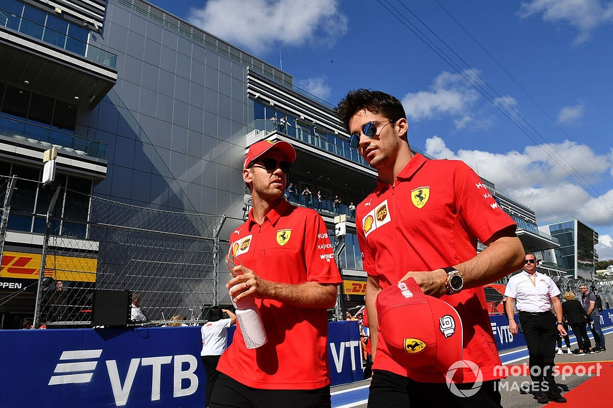 "Vettel: ""Not fair"" to say whether Leclerc is toughest teammate"
