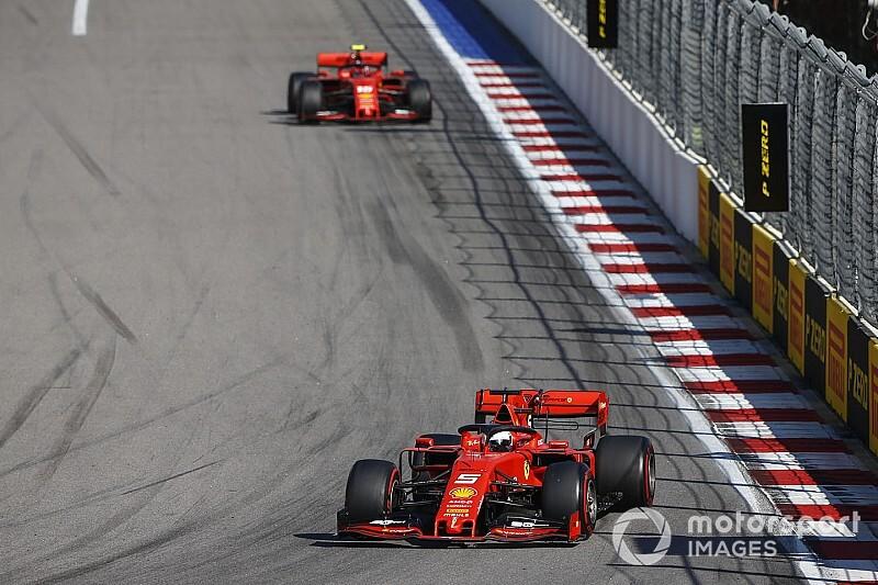 Binotto justifica que Vettel no devolviera la posición a Leclerc