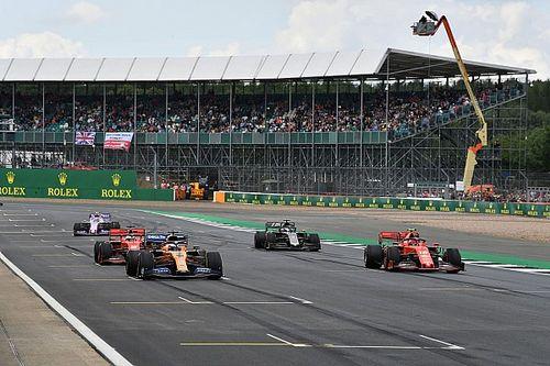 Silverstone ouvert à plusieurs courses et à un circuit à l'envers