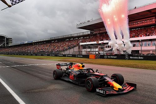 The seven phases of F1's outrageous German GP