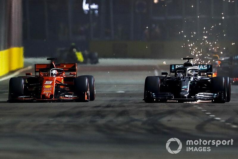 Ferrari bezwzględnie wykorzystało słabość Mercedesa
