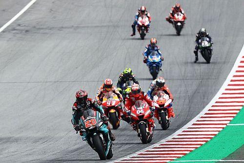 Положение в общем зачете MotoGP после Гран При Австрии