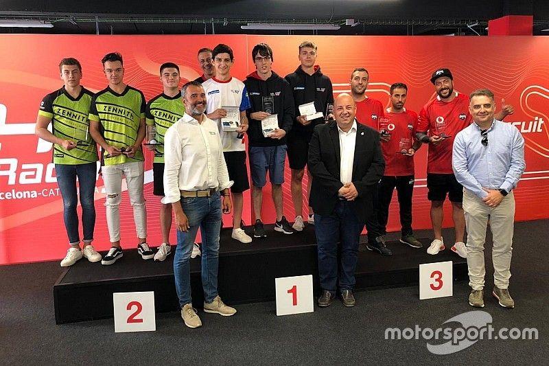 MSI eSports vence las 24h SimRacing del Circuit de Barcelona-Catalunya