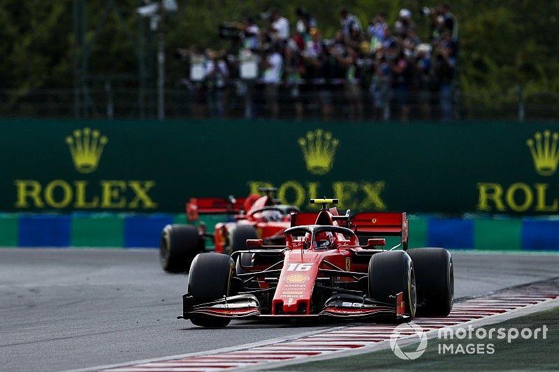 Waarom Ferrari op een minuut achterstand finishte in Hongarije