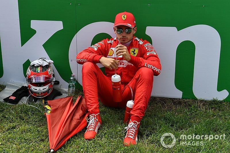 Leclerc ereiben igazi bajnoki vér csörgedezhet