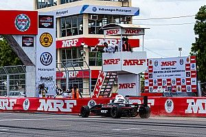 MRF F1600: Shah romps to double win on Sunday