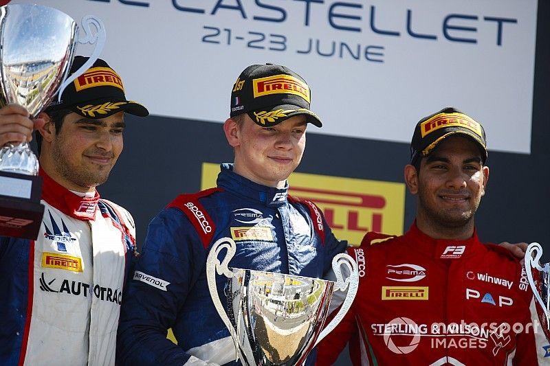 Paul Ricard F3: Sprint yarışının galibi Shwartzman oldu
