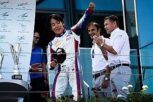 F2レース1で初優勝。松下信治「これを機に、運気が変わればいいと思う」