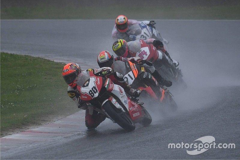 Japan ARRC: Honda's Sethu overcomes fogged visor to score points