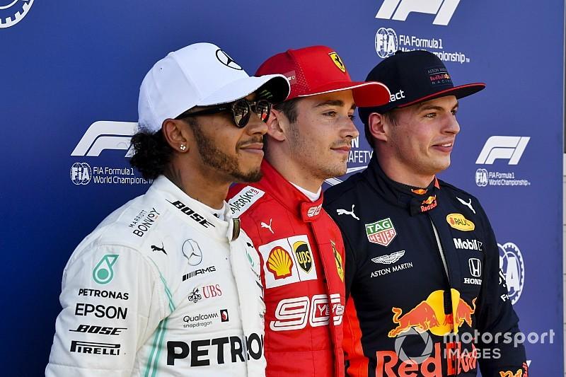 Estadísticas: El dúo Leclerc-Verstappen la primera línea con menos edad