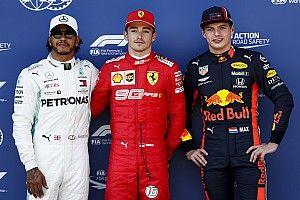Parrilla de salida para el GP de Austria de F1
